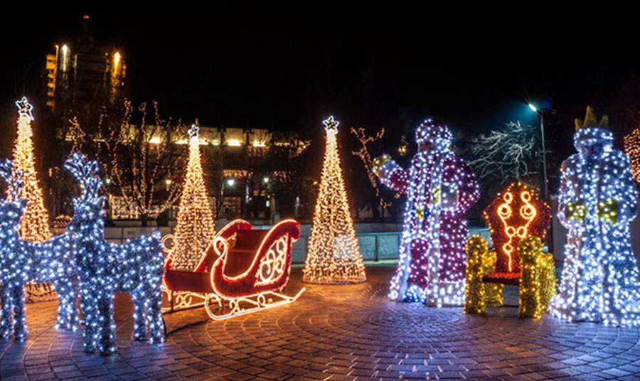 Toronto Events - Cavalcade of Lights: Annual Holiday Tradition